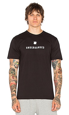 Underhanded Tee in Black