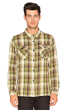 UND Plaid Flannel Button Down