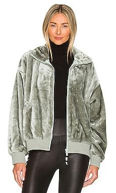 Laken Zip Up Faux Fur Jacket UGG $128