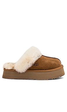 Disquette Fur Slide UGG $100