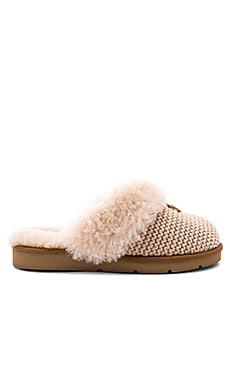 Cozy Knit Shearling Slipper UGG $120