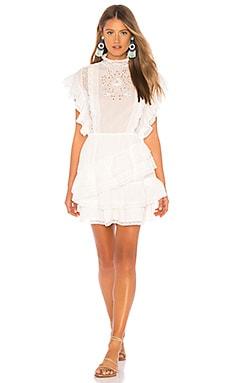 Фото - Платье holly - Ulla Johnson белого цвета