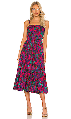 VESTIDO MIDI ELLYN Ulla Johnson $425