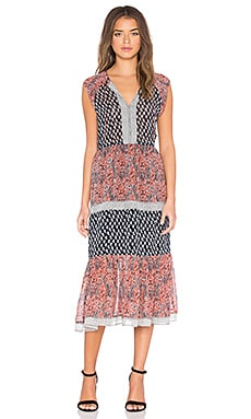 Ulla Johnson Tropez Dress in Coral
