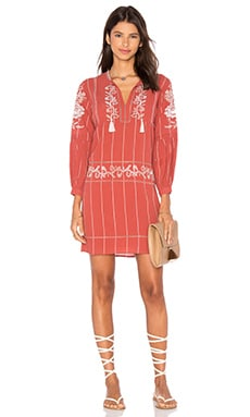Ulla Johnson Dalia Dress in Sienna