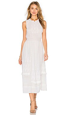 Ulla Johnson Alice Dress in Pearl