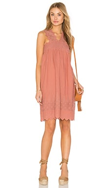 Ulla Johnson Nell Dress in Rose
