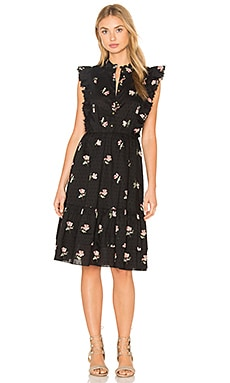 Ulla Johnson Estelle Dress in Flint