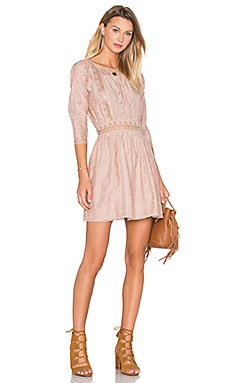 Ulla Johnson Darya Dress in Dusty Rose