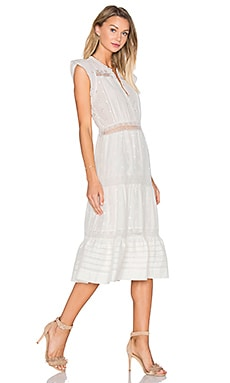 Ulla Johnson Tatyana Dress in Gardenia