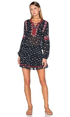 Ulla Johnson Gita Dress in Midnight