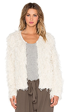 Ulla Johnson Tomo Cardigan in Natural