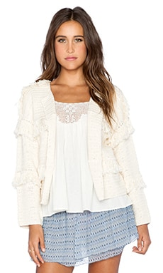 Ulla Johnson Pisco Jacket in Natural