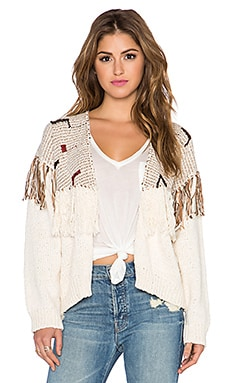 Ulla Johnson Gemma Cardigan in Mixte