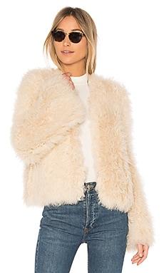 Harper Lamb Fur Coat
