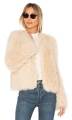 Harper Lamb Fur Coat Ulla Johnson $805