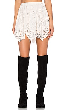 Ulla Johnson Flo Skirt in Snow
