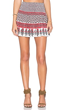 Ulla Johnson Kenza Skirt in Light Indian Floral