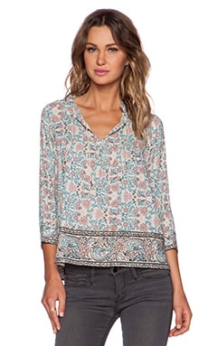 Ulla Johnson Rhia Blouse in Light Floral