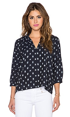 Ulla Johnson Aida Blouse in Indigo