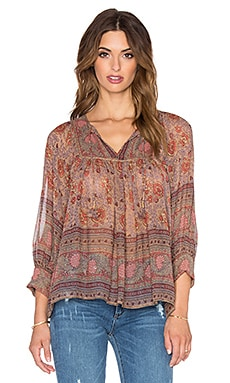 Ulla Johnson Bea Blouse in Light Floral