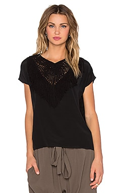 Ulla Johnson Uma Blouse in Raven