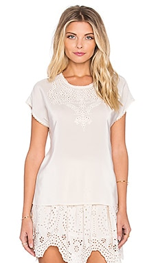 Ulla Johnson Celeste Blouse in Snow
