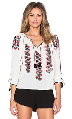 Ulla Johnson Ophelia Blouse in Natural