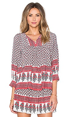 Ulla Johnson Bea Blouse in Light Indian Floral