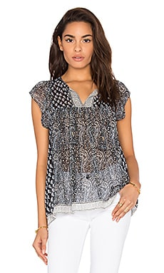 Ulla Johnson Nimes Blouse in Mer