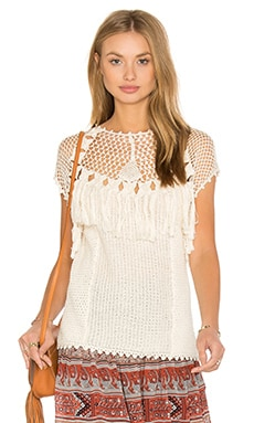 Ulla Johnson Ivy Top in Shell