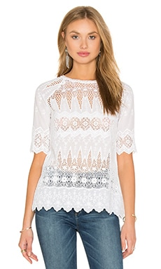 Ulla Johnson Sadie Blouse in Daisy