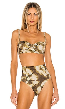 Zahara Bikini Top Ulla Johnson $145 NEW