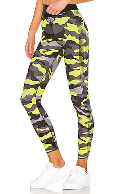 Ultra High Neon Camo Legging ultracor $129