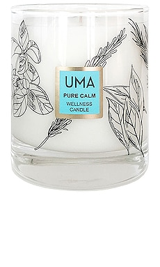 VELA PURE CALM WELLNESS CANDLE UMA $68
