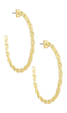 Chain Hoop Earrings Uncommon James $62