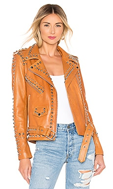 BLOUSON EN CUIR WESTERN DOME EASY RIDER Understated Leather $655