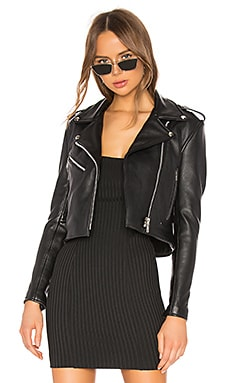 BLOUSON MERCY Understated Leather $430