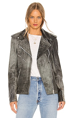 Oversized Easy Rider Jacket Understated Leather $495