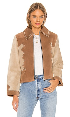 Stardust Jacket Understated Leather $550