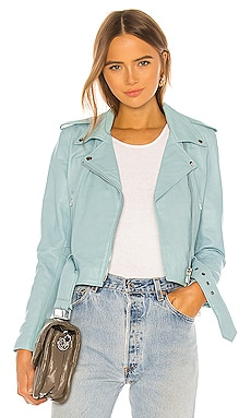 CHAQUETA MOTO Understated Leather $380