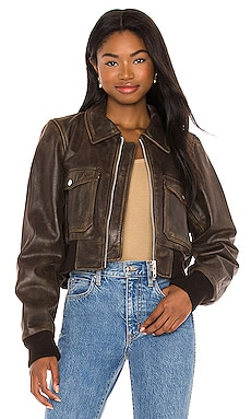 BLOUSON SPIRIT Understated Leather $399 BEST SELLER