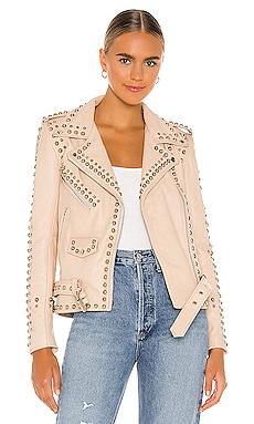 Western Studded Jacket Understated Leather $655