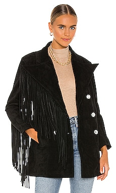 BLOUSON UNEVEN Understated Leather $385
