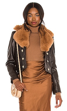 BLOUSON QUINCY Understated Leather $499