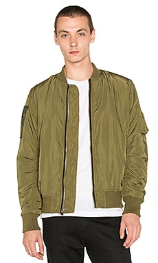 UNIF Nothing Bomber Jacket in Green