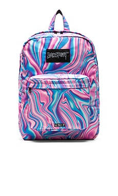 UNIF Badsport Backpack in Pink Melt