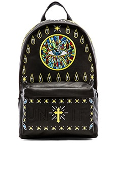 UNIF Church of UNIF Backpack in Black