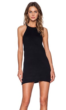 UNIF Route Dress in Black