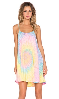 UNIF Psych Dress in Tie Dye